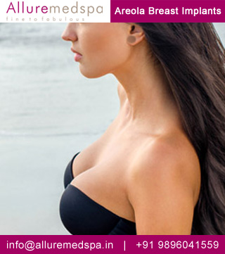 Areola Incision Breast Augmentation Surgery  Mumbai, India