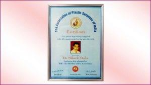 Association-of-Plastic-Surgeon-Certificate