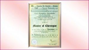 Master-of-Chirurgiae-Certificate