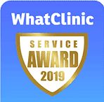 Awarded by WhatClinic.