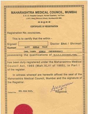 best gynecologist certificate